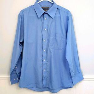 BH Polo Club Blue Dress Shirt